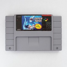Super Nova 16 bit Big Gray Game Card For NTSC Game Player Drop Shipping