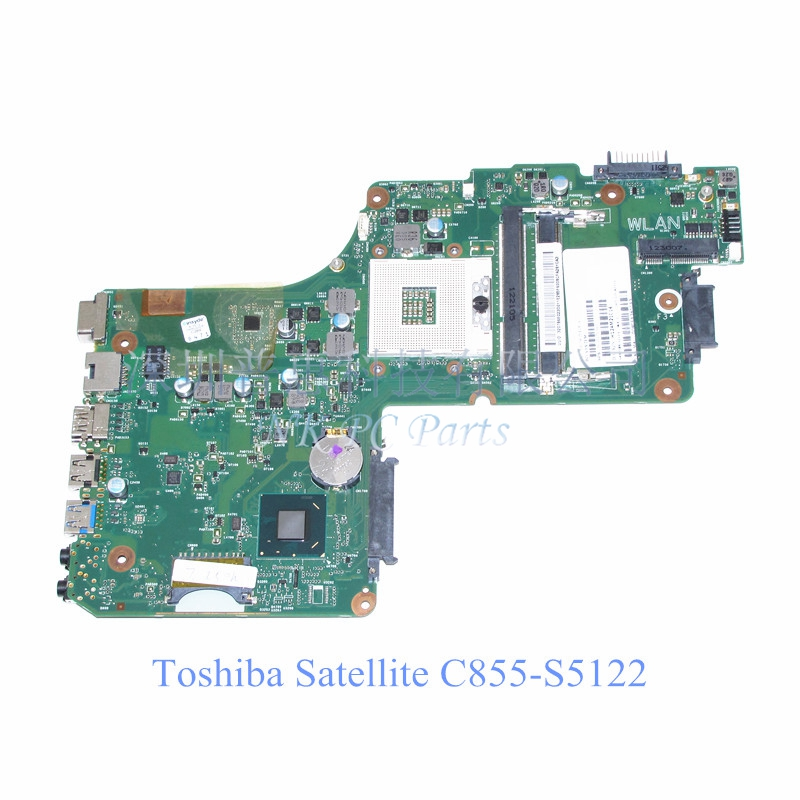 V000275560 Laptop motherboard for Toshiba Satellite C855 Main board HM77 GMA HD4000 DDR3