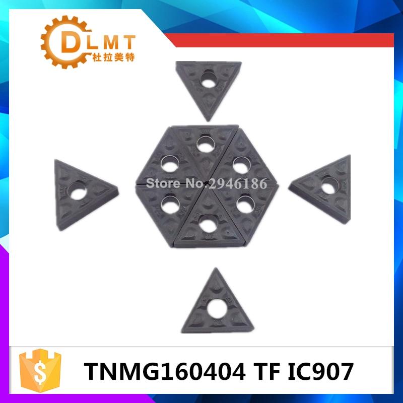 10PCS TNMG160404 TF IC907 belső forgácsoló szerszám keményfém - Szerszámgépek és tartozékok - Fénykép 4