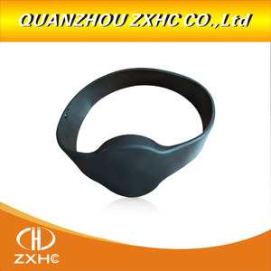 Image 5 - 13.56Mhz MF1108 (S50 Compatible) ISO14443A RFID Waterproof Smart Silicone Wristband Bracelet