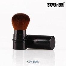 MAANGE Professional Makeup brushes Retractable blush brush Foundation Cosmetic Face Powder Brushes Mini Travel make up tool недорого