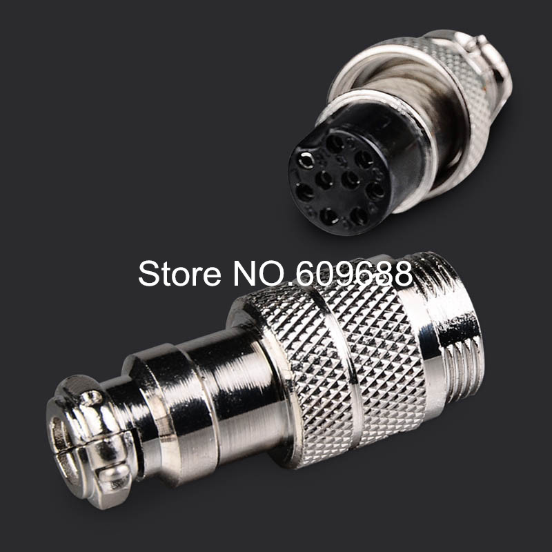 GX16-7/8/9 male and female pin Aviation plug,circular connector Socket Plug,GX16 Diameter 16mm,7/8/9 pins