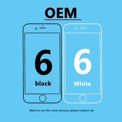 1PCS OEM 4.7 inch for iPhone 6 6G LCD display screen + Original flex cable + Free shipping For iphone 6 original display