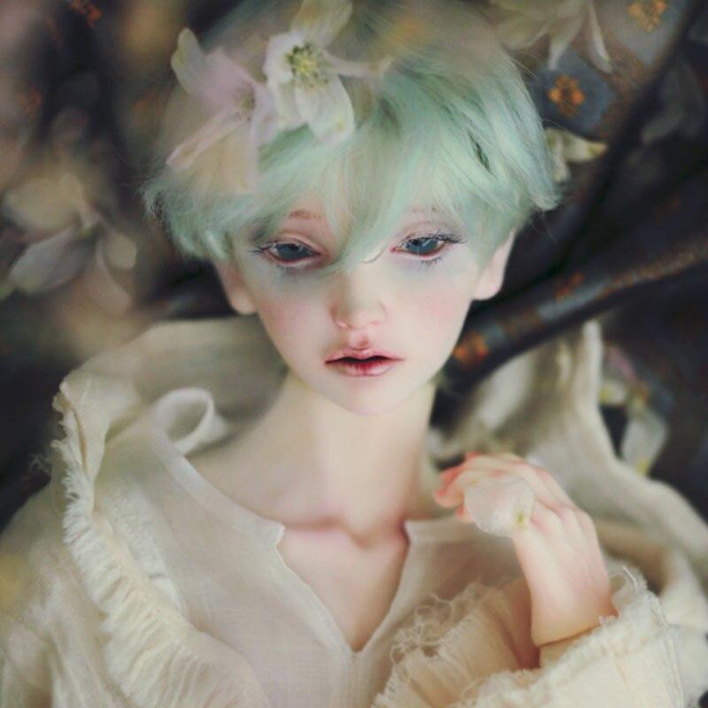 OUENEIFS interruptor waseón Rosa Blanco 1/3 BJD SD muñecas modelo niñas niños ojos juguetes de alta calidad tienda figuras de resina-in Muñecas from Juguetes y pasatiempos    2
