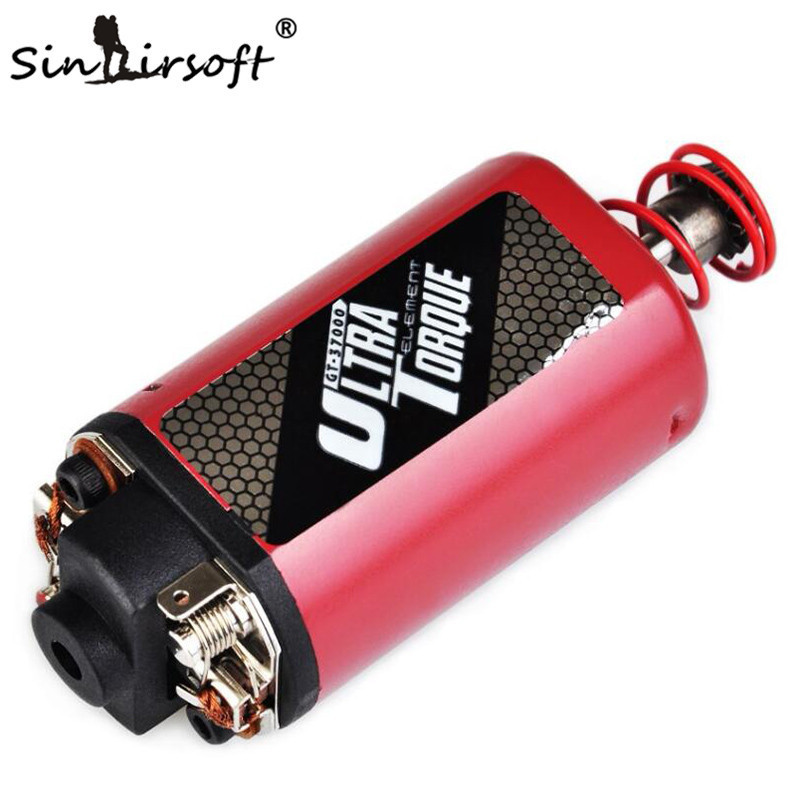 SINAIRSOFT Element Airsoft ULTRA TORQUE MOTOR SHORT TYPE High Torque Type Strong Magnet for Airsoft AK47 AK74 AEG Ver3 IN 0915 sinairsoft electronic key aeg merf 3 2 for aeg guns battery protection fuse lipo lifepo4 liion nicd m4 ak47