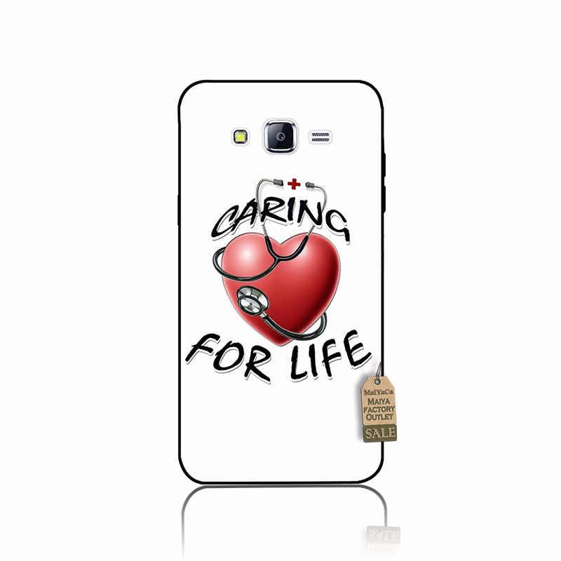 MaiYaCa enfermera médico salud medicina funda del teléfono del corazón para samsung j7 2017 j2pro j6 j4 j8 2018 note9 s10plus s10lite caso