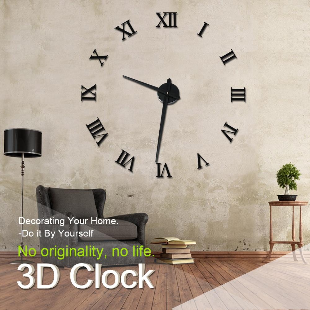 Relojes de pared originales para salon reloj de pared diy - Relojes para salon ...