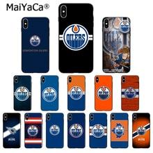 MaiYaCa Edmonton Oilers Customer High Quality Phone Case for Apple iPhone 8 7 6