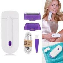 Мини-лазерный эпилятор, профессиональный безболезненный лазерный эпилятор для удаления волос, портативный Перманентный эпилятор, электрический инструмент для удаления волос