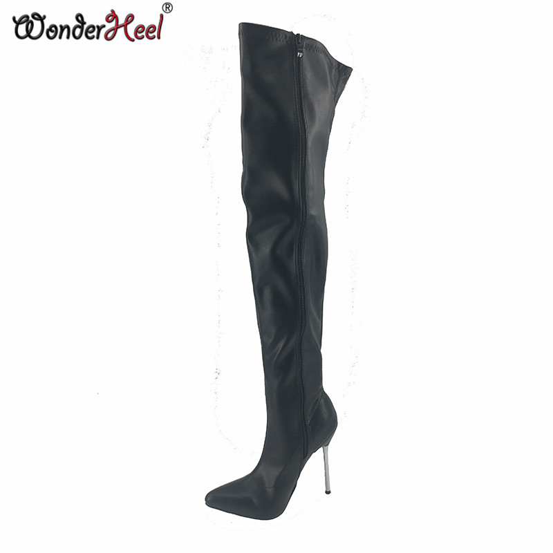 from Cayden overknee boots leather sex