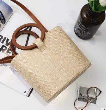 Wooden beach bag 1