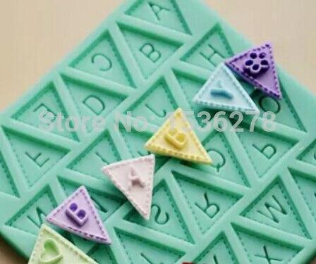 Fondant ëmbëlsirë silikoni me myk të mrekullueshëm Alfabeti i - Kuzhinë, ngrënie dhe bar - Foto 2