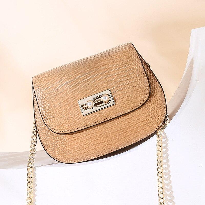 Mode Sattel Split Leder Runde Tasche Umhängetaschen Für Frauen Luxus Handtaschen Frauen Taschen Designer Mini Schulter Tasche sac - 6
