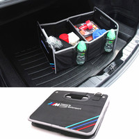 1X For BMW M X5 E70 E30 F20 E87 E34 E92 E61 E62 E63 E64 E65 E66 E67 E68 X6 Car Accessories Trunk Box Stowing Tidying Car Styling