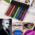 8 pcs/set Liquid Lipstick Sexy WaterProof Long Lasting Matte Lipstick Lip Paint Black Purple Lip Gloss