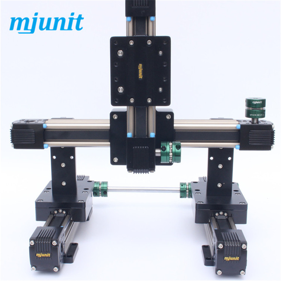 toothed belt drive rail manufacturer 24vdc actuator linear motion slider Motorized XYZ axis Nema 17 23 high speed guideway belt driven linear slide rail belt drive guideway professional manufacturer of actuator system axis positioning