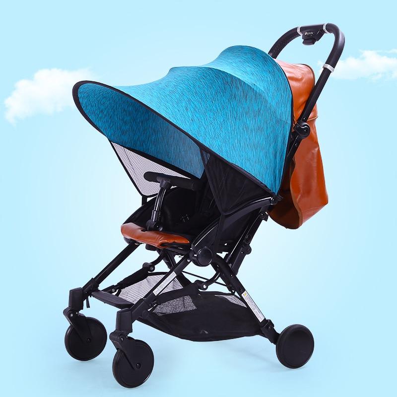 Saulėlydžio vaikiškų vežimėlių tentai Rag Shade Blocks 99% UV - Vaikų veikla ir įranga - Nuotrauka 1