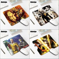 Mairuige Funny Comic Mousepad Anime ONE PUNCH-MAN Supper Hero Mouse Pad Saitama Sensei Pattern Tablets Mat Pc Gaming Mat Pad 4