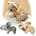 Novo Diamante Bonito do Teste Padrão do Gato koala Anti Poeira Plugue Para Fone De Ouvido Acessórios Do Telefone Jack