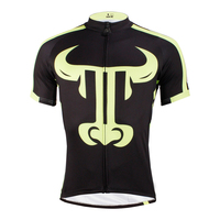 ILPALADINO Specialized Men Cycling Jerseys Short Sleeve Bike Clothing Animal Print MTB Bicycle Clothes Sport Suit