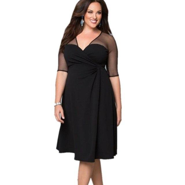 Aliexpress.com : Buy Women dress xxl 2016 hot plus size dress ...