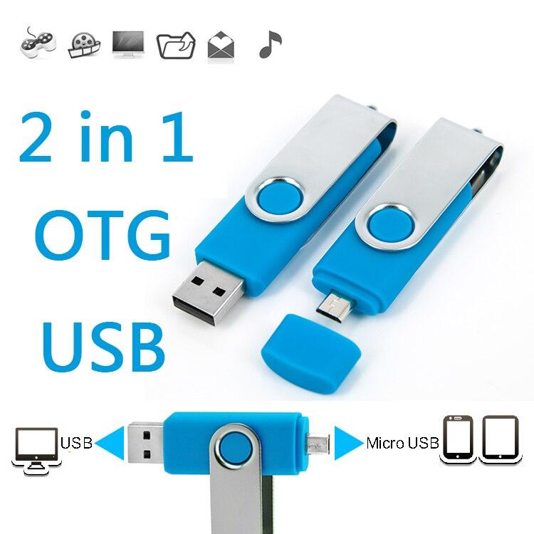Mobile Phone Dual Usb Flash Drive 8gb 16gb 32gb 64gb Otg Pen Drive Business Gift USB Stick Flash Memory Card 128GB 256GB 1TB