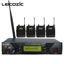 Leicozic BK-510 профессиональная IEM Система s 4 Приемник Беспроводная в ухо система монитора для сцены мониторинг звука в ухо сценический звук