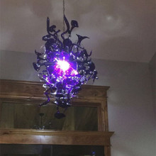 Luxury Chandelier Lamp Flower Lighting Living Room High Quality Hot Selling Murano Glass Chandeliers Ceiling