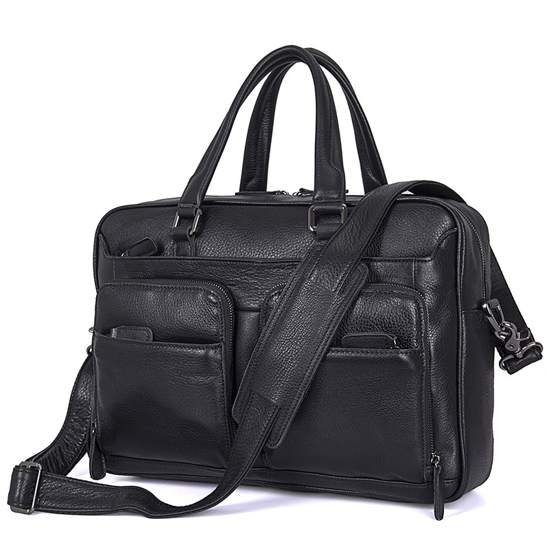 Men Business Travel Briefcases Genuine Leather 2019 Man Vintage Fashion Casual Laptop 15  Tote Big Bags Briefcase Shoulder Bag Men Business Travel Briefcases Genuine Leather 2019 Man Vintage Fashion Casual Laptop 15  Tote Big Bags Briefcase Shoulder Bag