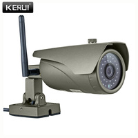 Real Time 1 0Megapixel 1MP 720P Waterproof Outdoor Indoor Wireless IP Camera WIFI P2P Onvif Audio