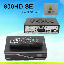 5 unids de Buena Calidad Venta Caliente dm800hd se DM800SE receptor de satélite Con tarjeta sim2.10 DM 800SE 800hd Envío Libre