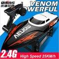 UDI001 2.4G Rc barco de juguete 32 cm velocidades Infinitamente variables/barco de carreras de alta velocidad 25 km/h mejor regalo para chicos VS FT009 FT012