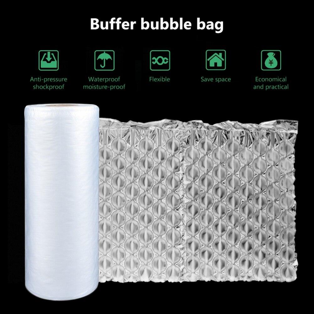 Один рулон межвентилируемая мембрана четырехрядная пузырчатая сумка заполненная ударопрочная воздушная подушка буферная машина аксессуа...