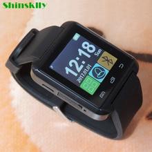Men girl U8 Sports Smart Watch Bluetooth Smartwatch Pedometer Clock Wristwatch Notification handfree for Android Phone PK DZ09