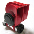 Hot For Snail Nautilus Standard 12V Red Twin Auto  Air Horn Trumpet 139dB Car Truck [QPL38]