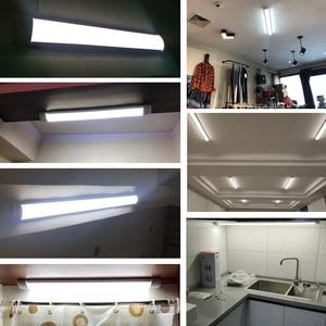Image 5 - 10PCS Led צינור אור 220V Led מנורת 1200mm 120cm 600mm T5 T8 צינור 20W 30W 40W קיר מנורת בית תאורה Lampara בית