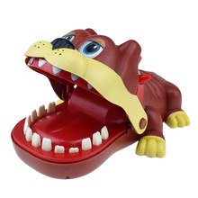 New Kids DogTeeth Mouth Dentist Bite Dog Tooth Model Toy with Sound Halloween Exciting Finger Game Family Toys For Children shark bite game funny toys desktop fishing toys kids family interactive toys board game