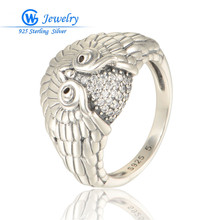 Animal Rings 925 Sterling Silver Ring Of Crystal Jewellery Finger Ring Wholesale GW Wonderful Jewelry RIPY033H20