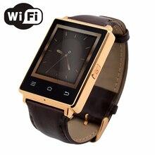 NO. 1 D6 Reloj 1 GB RAM 3G Apoyo Reloj Inteligente Salud Monitor de Función GPS WIFI MTK6580 Quad A Core 1.63 Pulgadas de Pantalla smartwatches