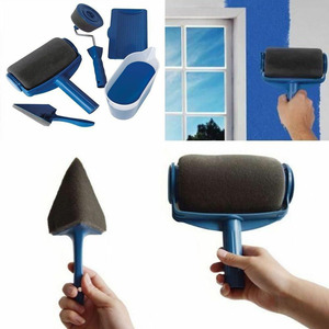 Seamless Paint Roller Household Use Wall Decorative Brush Handle Tool DIY Easy to Operate Painting Brush Tools Dropshipping(China)