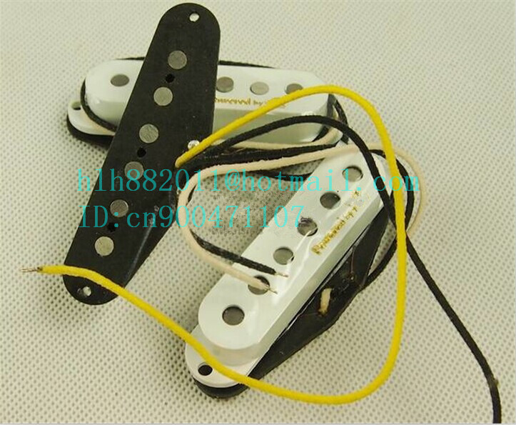 free shipping new single wave electric guitar pickup in white made in South Korea  LA-8301