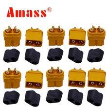 10 x Amass XT60 XT60H разъем с оболочкой корпус 5 Мужской 5 женский(5 пар) скидка 20
