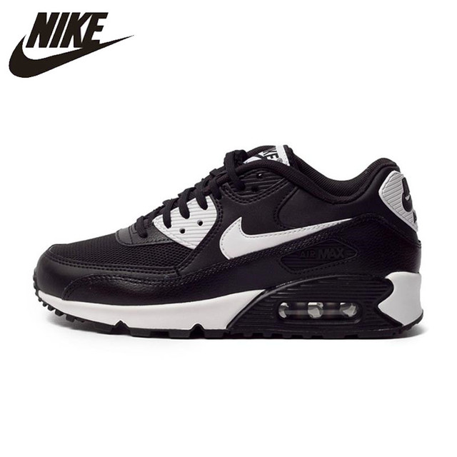 sneakers for cheap 62487 bb8bb Authentic NIKE AIR MAX 90 ESSENTIAL Breathable Women s Running Shoes  Sneakers Trainers-in Running Shoes from Sports   Entertainment on  Aliexpress.com ...