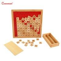 Mathematik Montessori Pythagoras Bord Zählen Praxis Kinder Frühe Pädagogische Vorschule Lehre Holz Spielzeug Spiel Box MA076 3 Mathe-Spielzeug    -