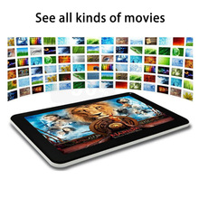 7 Pulgadas Quad Core Android WiFi Bluetooth pc Tablets Pc IPS LCD 3G Llamada de Teléfono 1G 8G Android Tablet MiNi pad Teléfono con Cámara de 5Mp 8