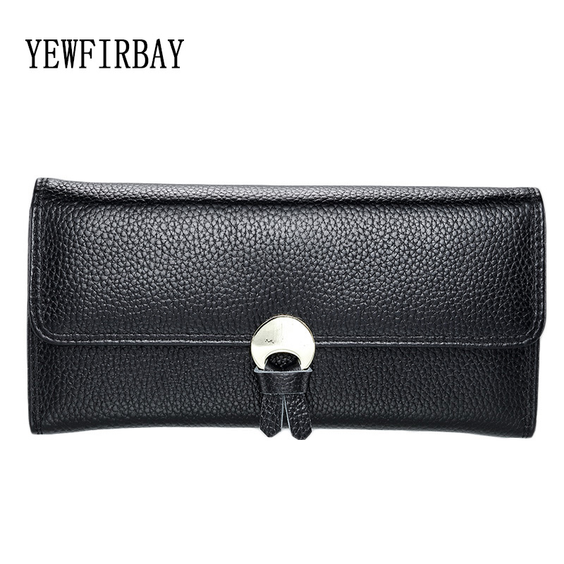 YEWFIRBAY brand wallets women fashion cards holders genuine leather wallet female coin purses Long wallet lady wallets 2016 fashion new brand women coin purses holders genuine leather small wallets hobos design sac femme female