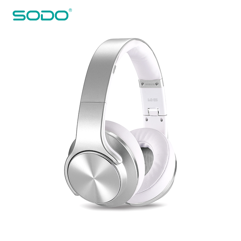цена на Original SODO MH5 Comfortable Wireless Headphone NFC 2 in1 Twist-out Bluetooth Speaker Headphone with Microphone for PC & Mobile