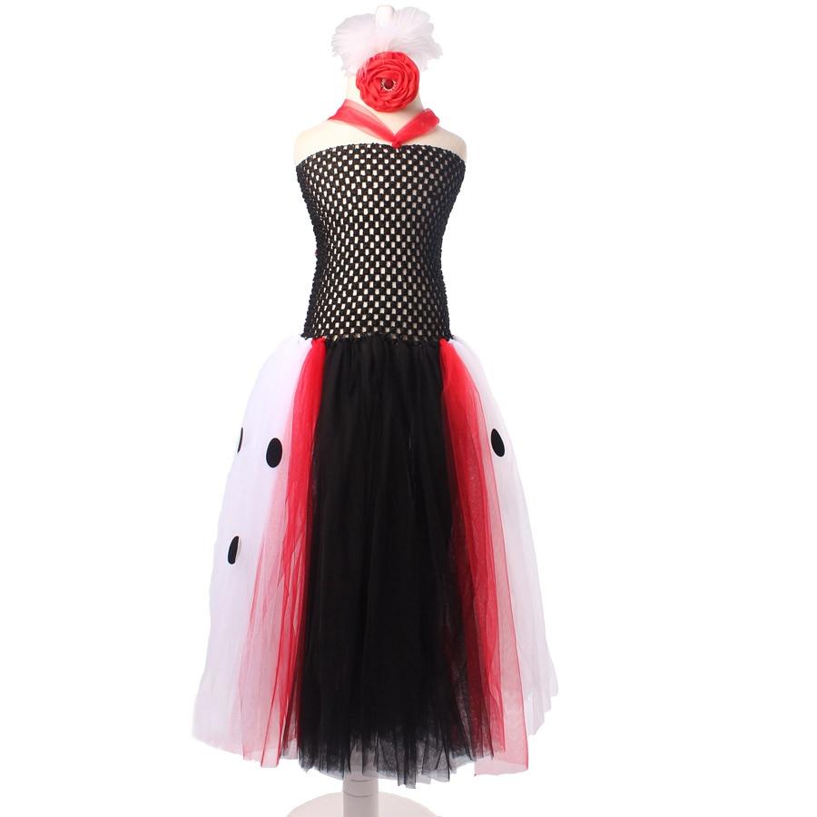 Dalmatijos karalienės mergaitės Tutu suknelė su galvos apdangalu - Vaikų apranga - Nuotrauka 2