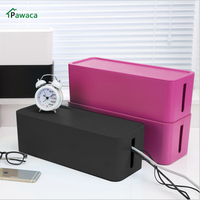 Creative Safety Electric Wires Organizer Management Case Plastic Large Socket Outlet Board Storage Box Plug In
