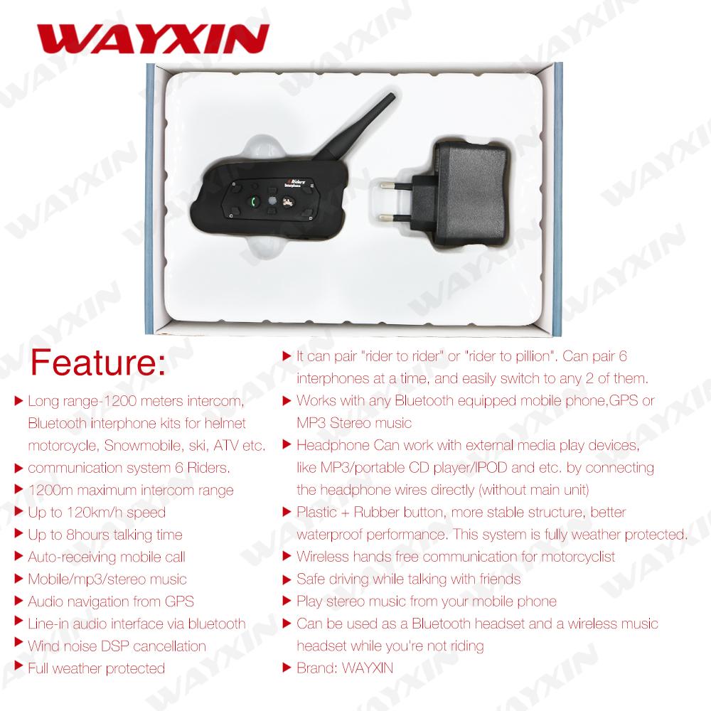 WAYXIN-Motorcycle-Intercom-wireless-Motorcycle-Helmet-intercom-Bluetooth-Intercom-Moto-Interphone-1200m-helmet-Headset-1PCS(4)